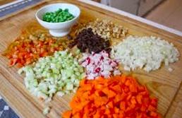 pile on the veggies photo