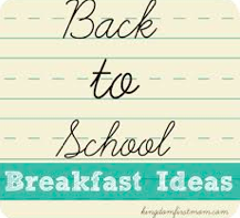 back to school breakfast ideas photo