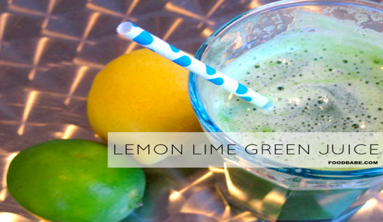 lemin lime green juice image